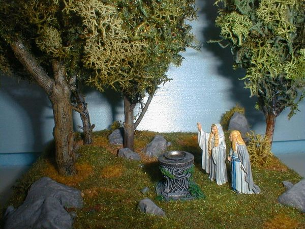 Tutoriel r alisation diorama seigneur des anneaux le for Miroir de galadriel