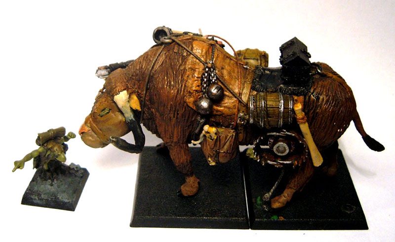 Warhammer mod lisme royaumes ogres diorama yackuffle 1 for Miroir de galadriel
