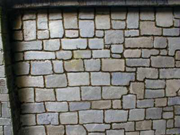 Murs en pierre pour d cors warhammer for Pierre a coller exterieur